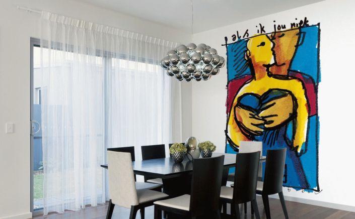 Fotobehang met schilderij van Herman Brood
