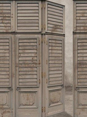 Riviera Maison fotobehang Louvre Doors 30603