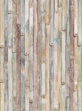 Komar fotobehang Vintage Wood 4-910