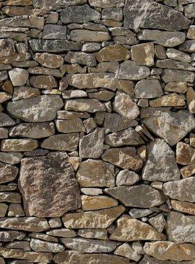 Komar fotobehang Stone Wall 8-727