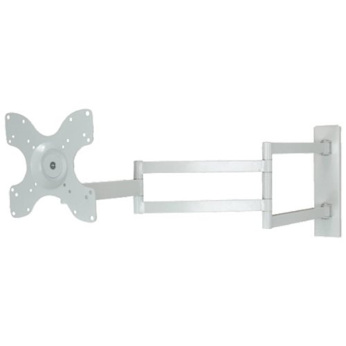 DQ Wall-Support Rotate XL White 97 cm TV Beugel