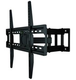 DQ Wall-Support Rhodos 600 Black TV Beugel