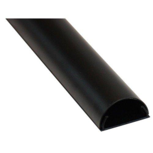 DQ Wall-Support Aluminium kabelgoot 110 cm black