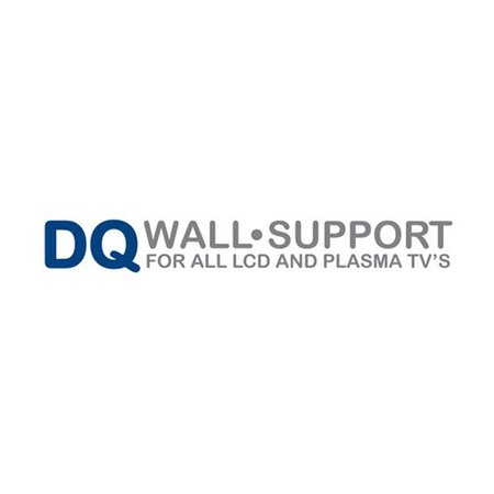 DQ Wall-Support Anna Flex 400 Black TV Beugel