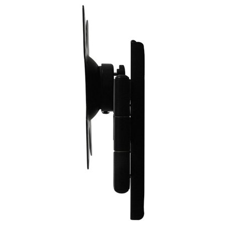 DQ Wall-Support Rotate Triple L black TV Beugel
