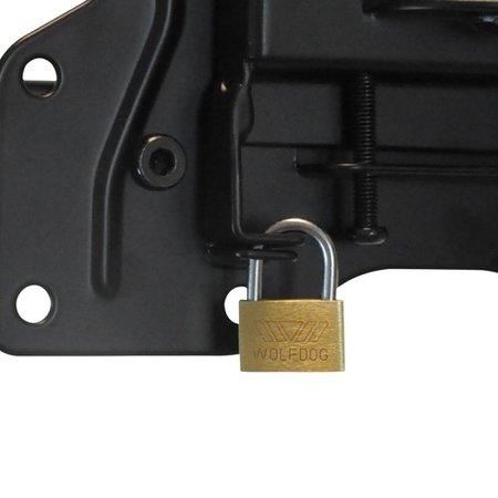 DQ Wall-Support Hercules Flex 400 black TV Beugel