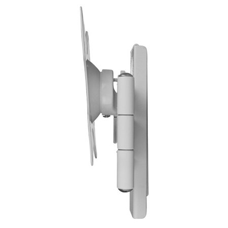 DQ Wall-Support Rotate Triple L white TV Beugel