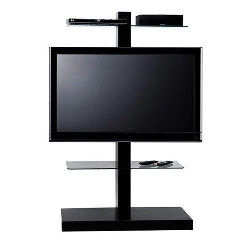LC Design Jolly Tower 2 Zwart TV Standaard