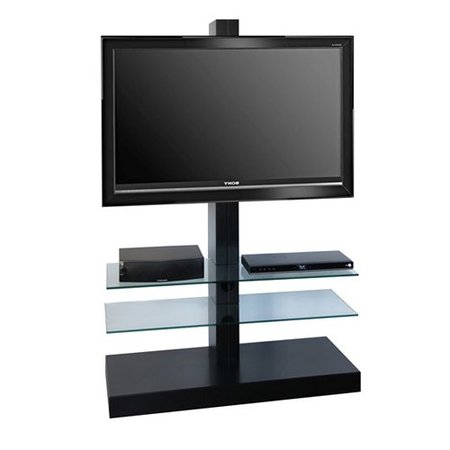 LC Design Jolly Tower 2 Zwart TV Standaard