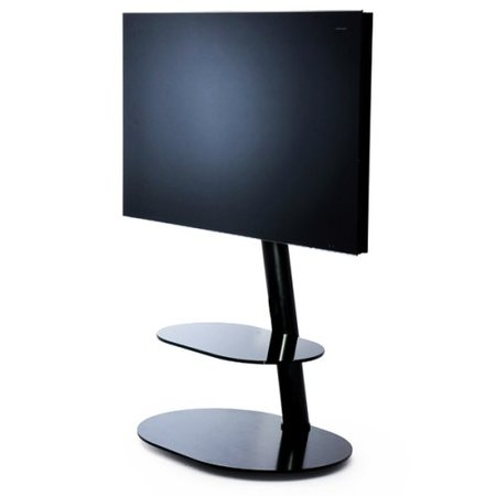 LC Design Screen Tower Zwart TV Standaard