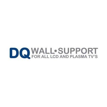 DQ Wall-Support TV Vloerstandaard 1800 Zwart
