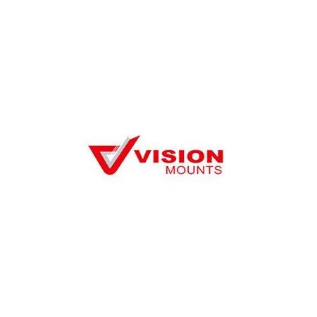 VisionMounts ST91 TV Standaard Zwart
