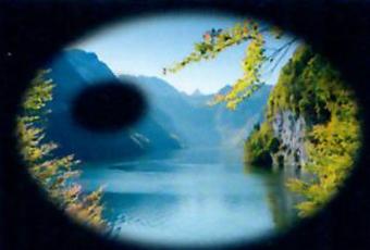 zichtsimulatie bij verdergevorderde glaucoom