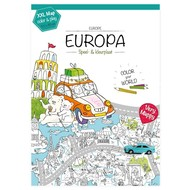 Very Mappy Europa XXL kleurplaat