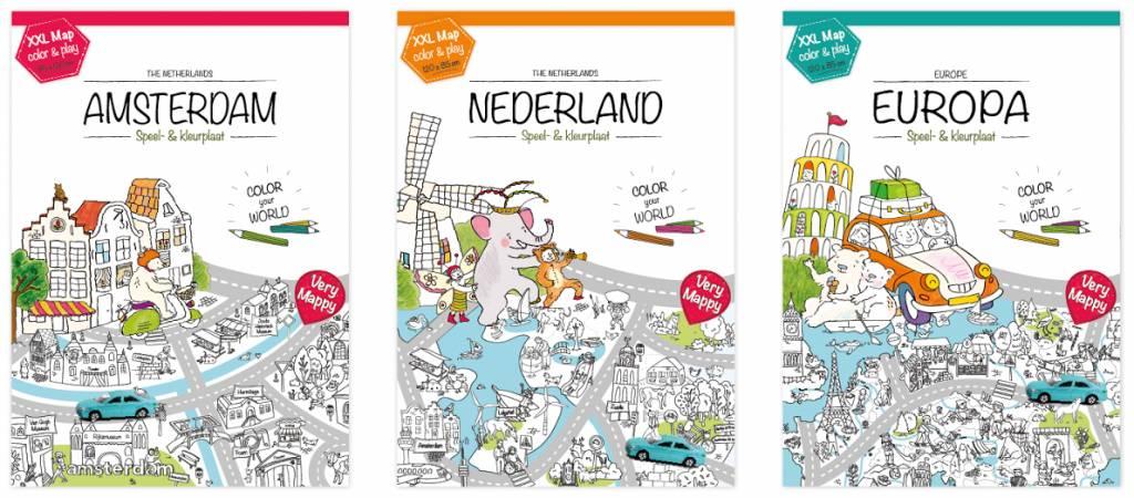 mappy europa kleurplaat educatief speelgoed