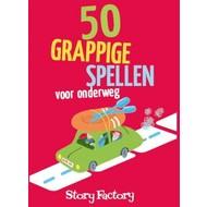 50 grappige spellen voor onderweg