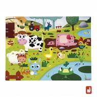 Janod Voelpuzzel - boerderijdieren