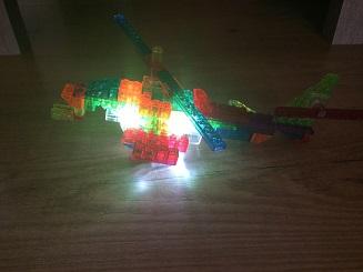 chopper met licht