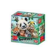 Prime 3D 3D Puzzel, Zoo Selfie, 63 stuks