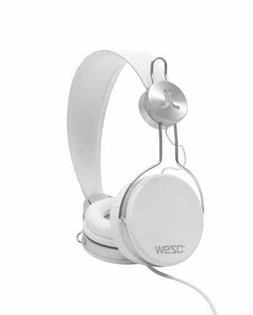 WeSC Banjar koptelefoon White