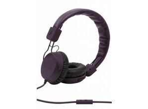 WeSC piston-burgundy-koptelefoon