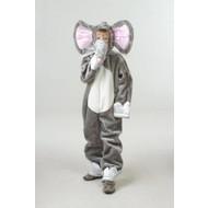 Karnevalskostüm Kinder Elefanten plüsche