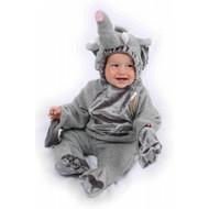 Karnevalskostüm Babys: Elefanten plüsche