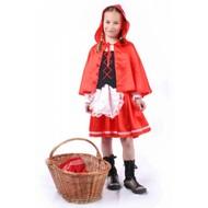 Karnevalskostüm Kinder Rottkäpchen
