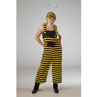 Festkostüme Latzhose Biene plüsche mit Kappe