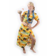 Festkostüme Hawaii set Damen