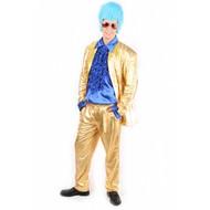 Karnevalskostüm Topper (Gold)