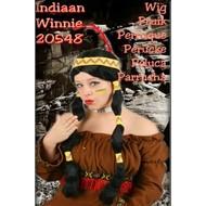 Karneval- & Fest Zubehör: Indianer-perücke Winnie (Frau)