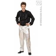 Faschingsklamotten: Goldene oder Silberne Hosen für Männer