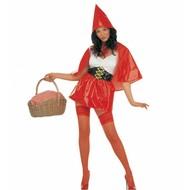 Karnevalskostüm Sexy Rotkäppchen