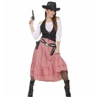 Karnevals-Kleidung: Western Lady