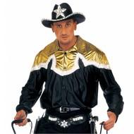 Faschingskostüme: Cowboy-shirt (luxus)