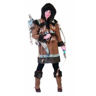 Faschningskostüme: Eskimo-familie Niora
