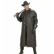 Cowboy-jacke schwarz