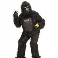 Faschingskostüm Schwarzer Gorilla