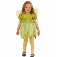 Kinderkarnevalskostüm: Fee grüne Blume