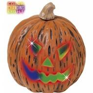 Halloween Accessoires: Kurbisch mit licht 20x23cm