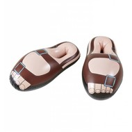 Faschings-accessoiren Aufblasbare Sandalen (56 cm)