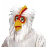 Maske: Huhn mit Haar