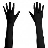 Karnevals-accessoires: Handschuhe satin (45 cm)