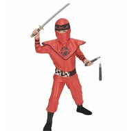 Karnevals-Kleidung Kinder: Red dragon Ninja