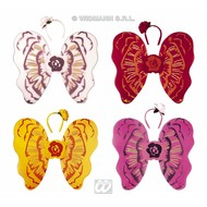 Karnevals-accessoires: Blumenflügelset Kind