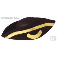 Kopfbedeckung Piraten tricorn
