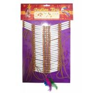 Karnevalszubehör: Indianer-Halskette