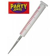 Karnevalszubehör: Thermometer oderSpritze