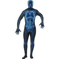 Second skin Anzug  X-ray Röntgen-photo